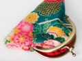 Monedero con boquilla de tela japonesa | gingerytulula.com