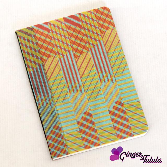 Libretas personalizadas craft washi tape en casa chula   gingerytulula.com