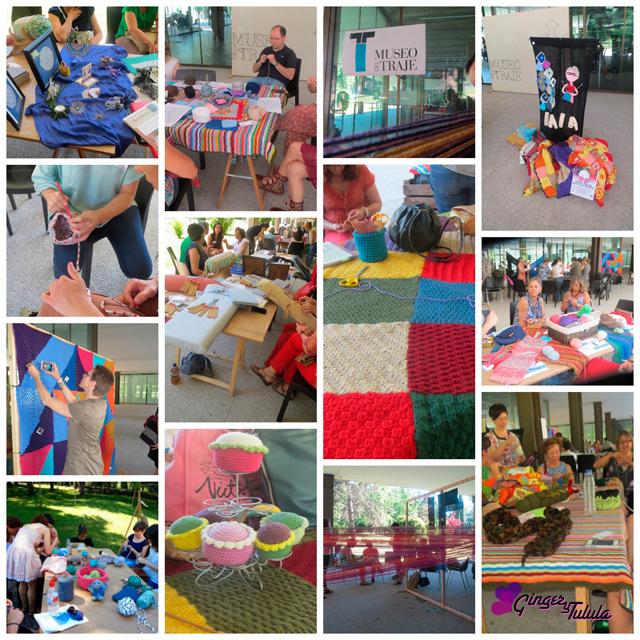talleres Día de Tejer en Público en el Museo del Traje