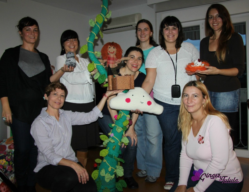 creativa madrid valentinas cuento crochet Jack habichuelas magicas Ginger y Tulula