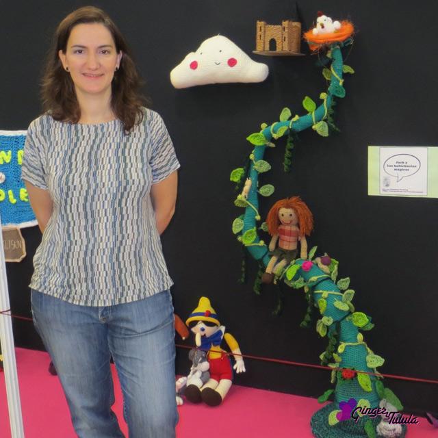 Creativa Madrid Valentinas cuentos crochet Jack y las habichuelas magicas