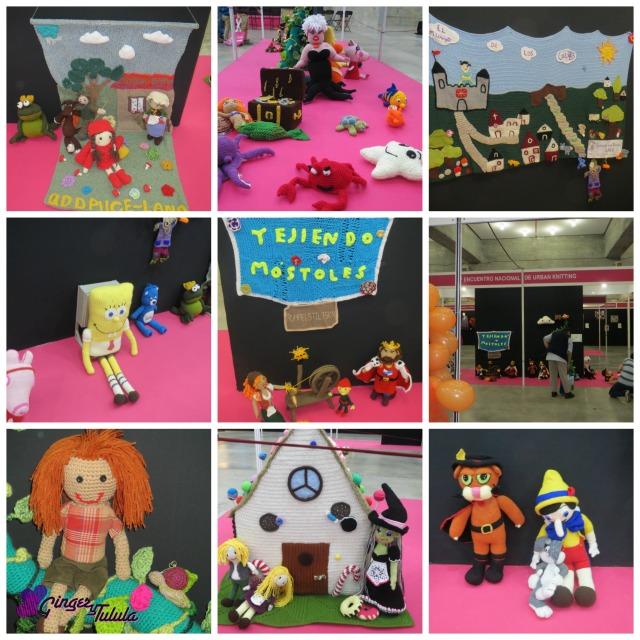 creativa madrid Valentinas cuentos hechos a punto y crochet urban knitting Ginger y Tulula
